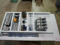 Panel construction in shop