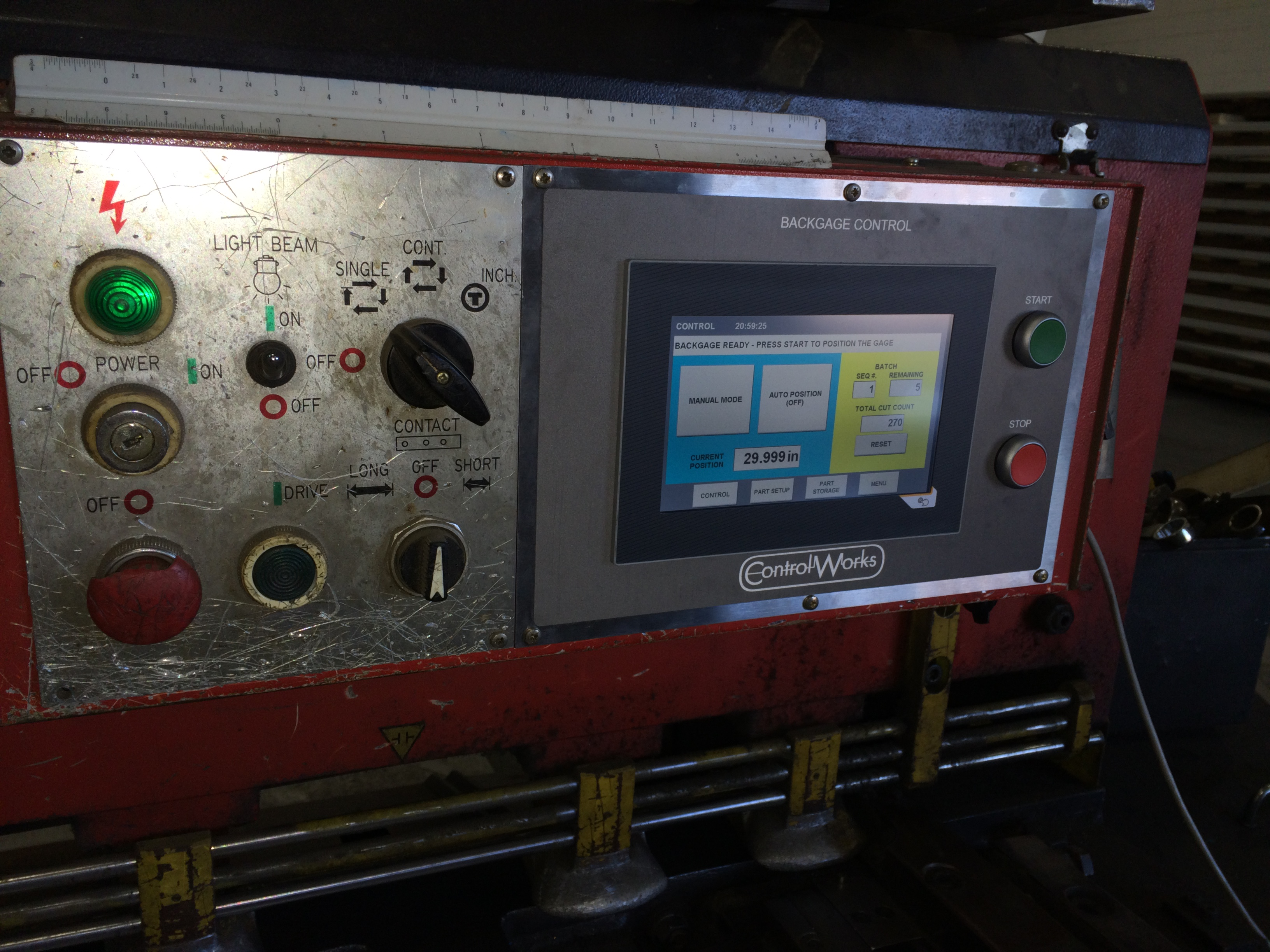 new gage control