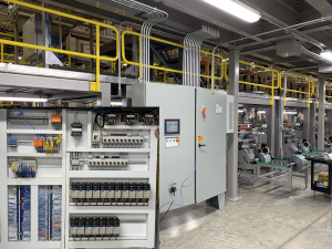 Well-designed industrial control panel