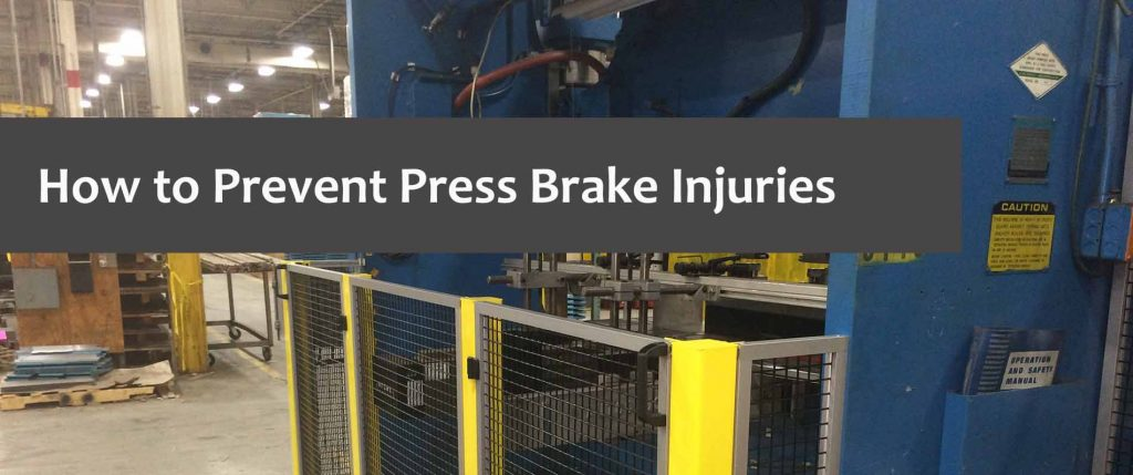 prevent press brake injuries
